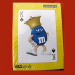 M & M Candies Playing Card