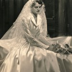 Scanned Image of Bride from Family Photo Collection