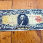 Collections Appraisal - Antique 20 dollar bill