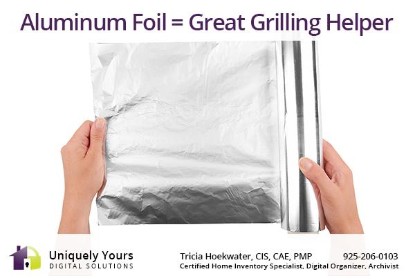 Aluminum Foil Grilling Tips