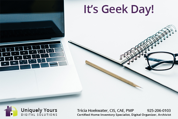 It's Geek Day - July 13