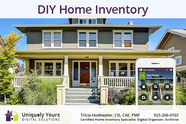 HomeZada DIY Home Inventory App