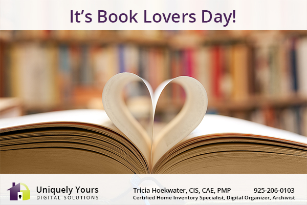 August 9 is Book Lover's Day