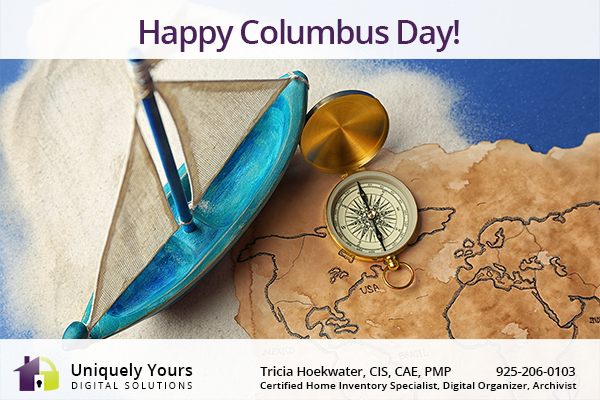Happy Columbus Day 2018