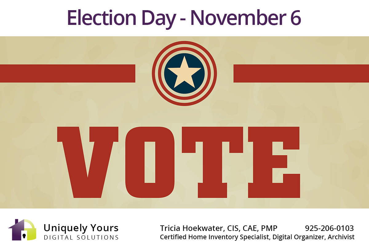 Election Day Vote Poster