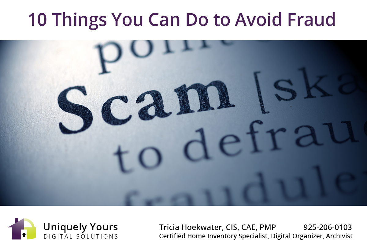 How to Avoid Being Scammed Artwork