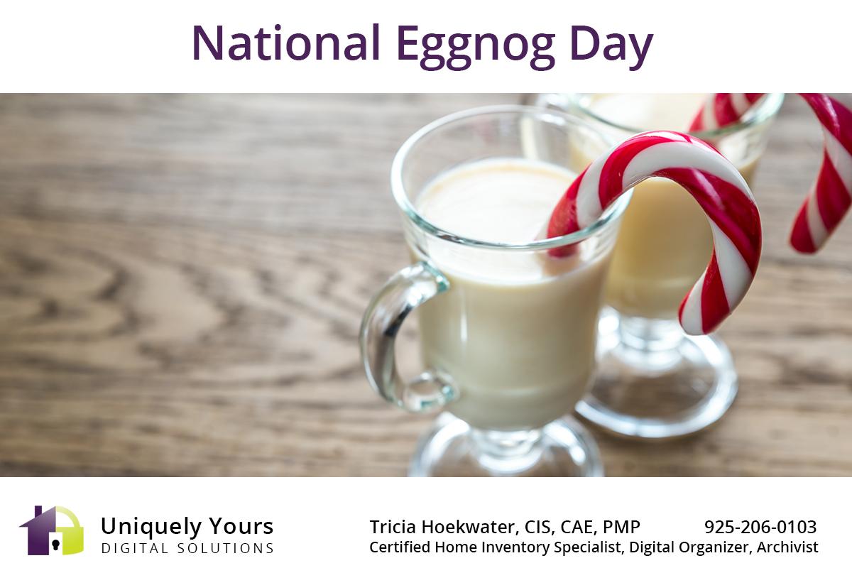 National Eggnog Day
