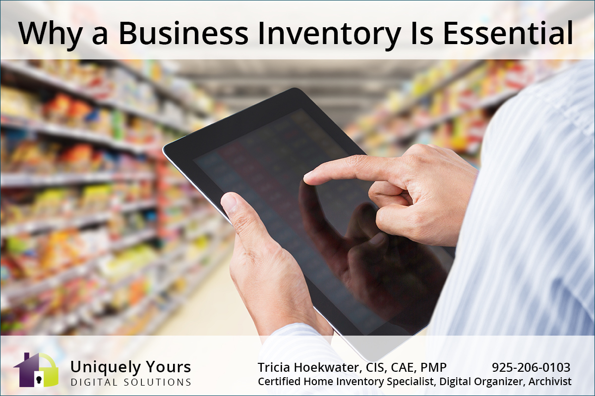 Why a Business Inventory is Essential