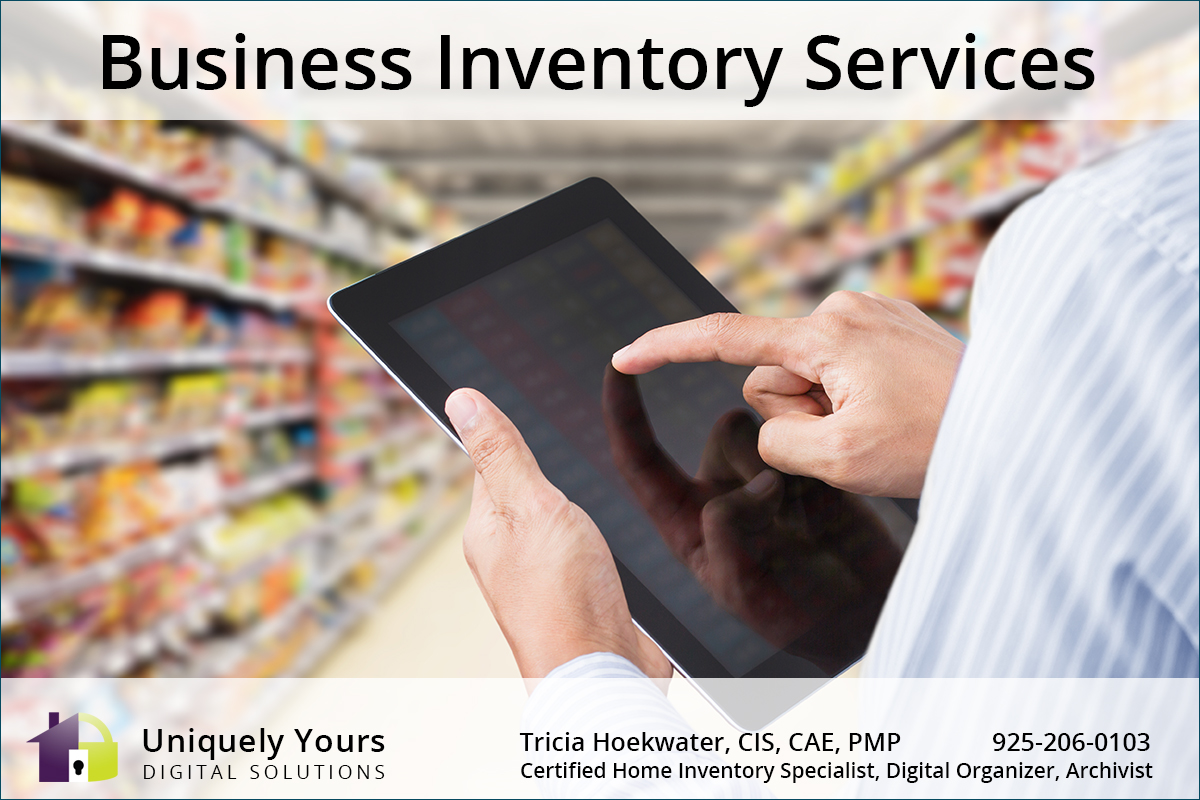 Individual Conducting Business Inventory