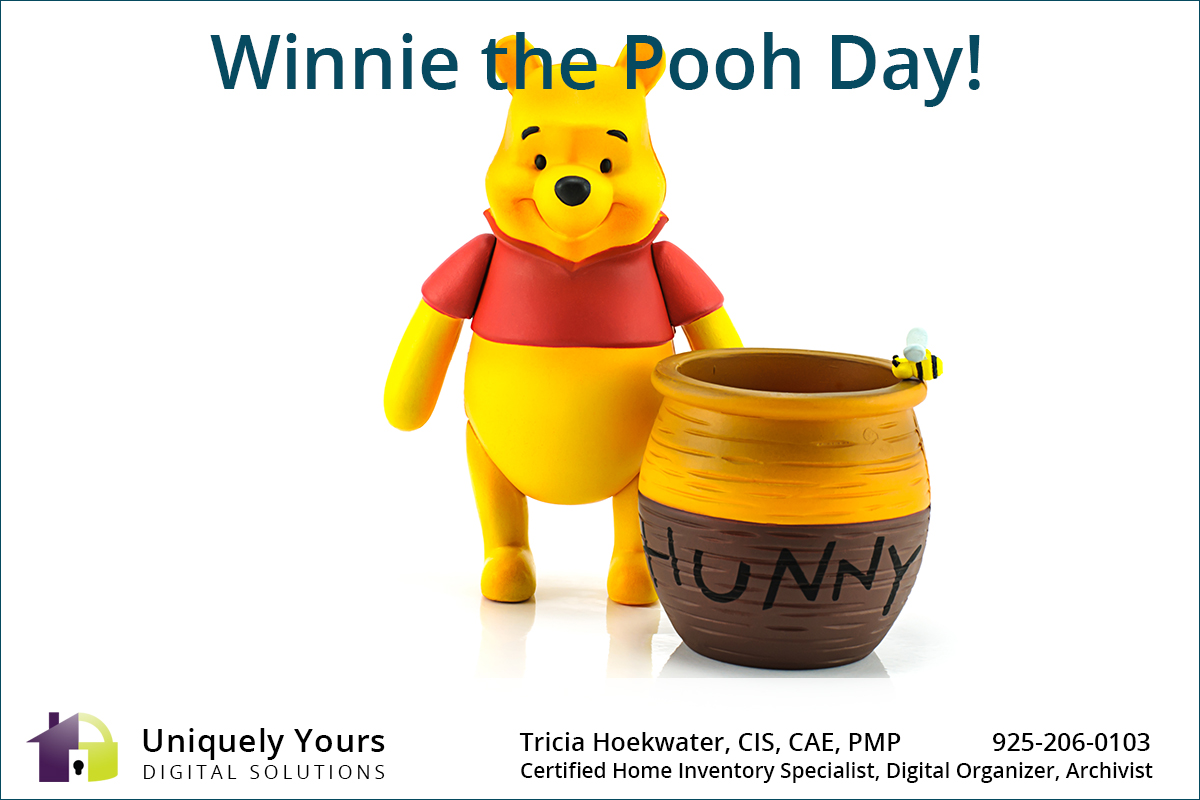 Winnie the Pooh with Pot of Honey
