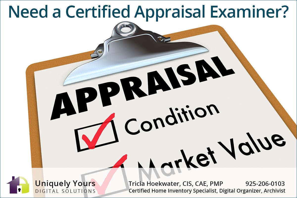 Clipboard of Certified Appraisal Expert Checklist